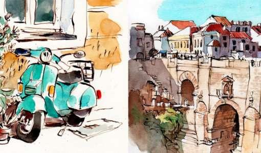 Abenteuer Urban Sketching – intensiv
