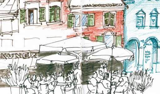 Urban Sketching unterwegs  – Lebendige Skizzen aus Würzburg