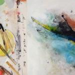 Sommerakademie Worpswede, Fotokurse, Fotoworkshops, Malreisen, Malkurse, Struktur malen, Atelier