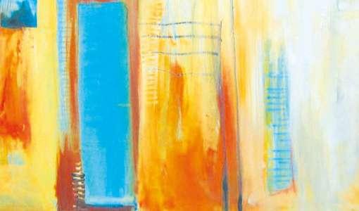 Experimentelle Acrylmalerei: Form, Farbe, Struktur