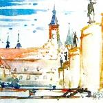 Sommerakademie Würzburg, Fotokurse, Fotoworkshops, Malreisen, Malkurse, Aschau, Stadt