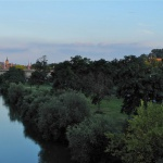 Sommerakademie Würzburg, Fotokurse, Fotoworkshops, Malreisen, Malkurse, Natur, Fluss, Sonnenuntergang, malen